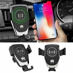 Qi Wireless Automatic Car Charging Charger Mount Clamping ai