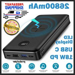 RAVPower Xtreme 26800mAh External Battery Charger Power Bank