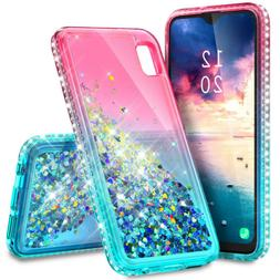 For Samsung Galaxy A10e A20 A21 A51 Bling Rubber Phone Case