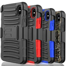 For Samsung Galaxy A10E Holster Clip Armor Phone Case, +Temp