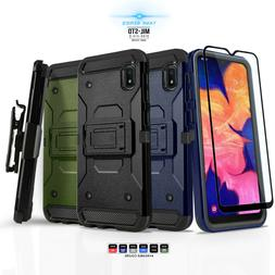 for SAMSUNG GALAXY A10E  Phone Case Cover & Holster +Tempere