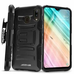 Samsung Galaxy A20 Rugged Phone Case with Screen Protector a