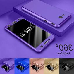 For Samsung Galaxy J3 Luna Pro 360° Shockproof Case Cover +