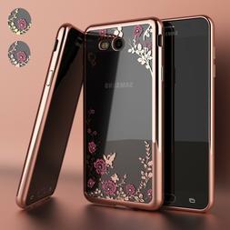 Samsung Galaxy J3 Luna Pro / J3 Emerge Luxury Crystal Bling