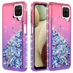 For Samsung Galaxy J7 2018/J7 Crown Shiny Liquid Bling Diamo