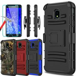 For Samsung Galaxy J7 Crown/Refine/Star Stand Clip Case With