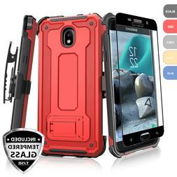 For Samsung Galaxy J7 Star/Crown/V 2018 Case 360° Clip Hols