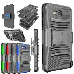 For Samsung Galaxy J7 V/Sky Pro/Prime Hybrid Phone Case Stan