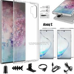 For Samsung Galaxy Note 10 Plus 5G Clear Case Cover Screen P