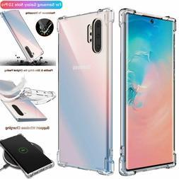 For Samsung Galaxy Note 10+ Plus S10 Hybrid Crystal Clear Ar