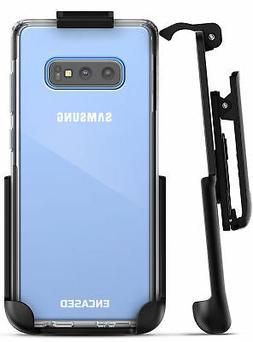 Encased Samsung Galaxy S10 Plus Belt Clip Clear Case w Holst