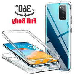 For Samsung Galaxy S20 FE 5G 360° Full Protect Clear Soft T