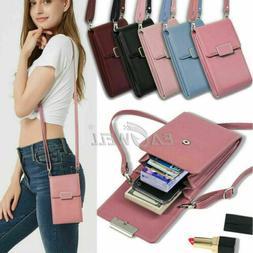 For Samsung Galaxy S20 S10 S9+ Cross-body Shoulder Bag Case