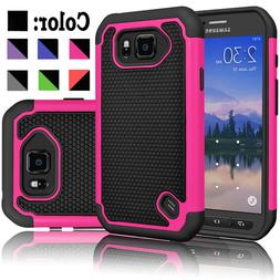 For Samsung Galaxy S6 Active Phone Case Cover + Tempered Gla