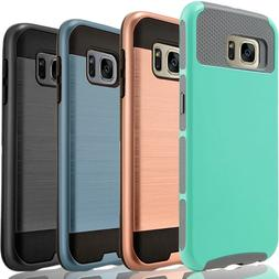For Samsung Galaxy S7 Active Edge Phone Case Cover + Tempere