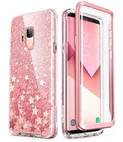 Samsung Galaxy S9 Case, i-Blason Cosmo Full-Body Glitter Bum