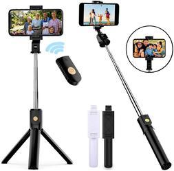 Selfie Stick Tripod Remote Desktop Stand Cell Phone Holder F