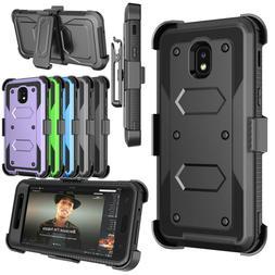 shockproof belt clip stand holster case cover