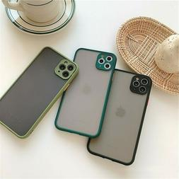 SHOCKPROOF plating clear Case For iPhone 12 11 Pro MAX XR X