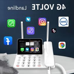 smart 4g lte wireless land line phone