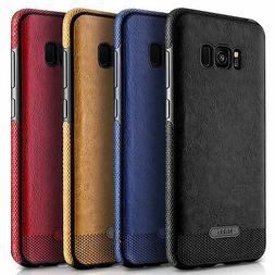Thin Leather Shock-Absorption Bumper Case For Samsung Galaxy