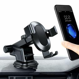 TORRAS Cell Phone Car Holder, Auto-Clamping Phone Mount Crad
