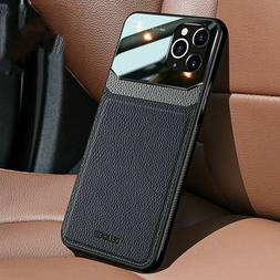 Slim Leather Hybrid Phone Case Cover For iPhone 12 Max 11 Pr