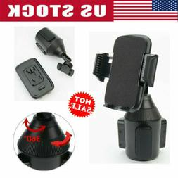 Universal Adjustable Car Cup Holder Stand GPS Cell Phone Cra