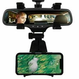 Universal Auto Car Rear-view Mirror Mount Stand Holder Cradl