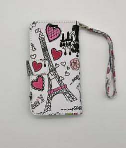 Wallet Case Women's Love Paris Cover for iPhone 11