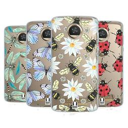 HEAD CASE DESIGNS WATERCOLOUR INSECTS SOFT GEL CASE FOR MOTO