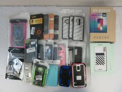 WHOLESALE LOT  CELL PHONE CASES & SCREEN PROTECTORS
