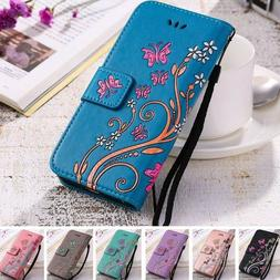 Women Flip Wallet Leather Phone Case Cover For Samsung Galax