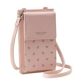 Women's Cross Bag Leather Purse Phone Mini Pouch Card Holder