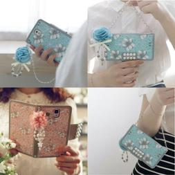 Women's Fashion Leather Handbag with Strap Wallet Case Cover