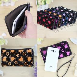 Women's Multifunction Fabric Mobile Phone Bag Ladies's Purse